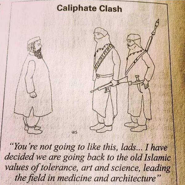 Dream of Caliphornication?